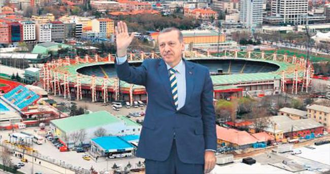 Başkentin yeni stadı 19 Mayıs'a