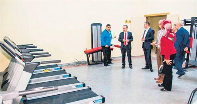 Elmadağ'a yeni spor tesisi
