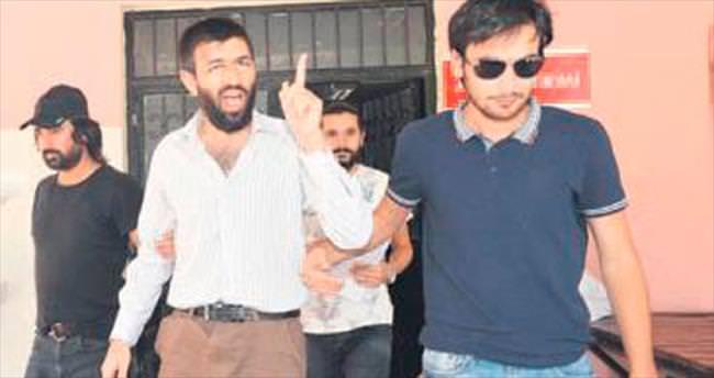 Camide panik yaratan zanlı tutuklandı