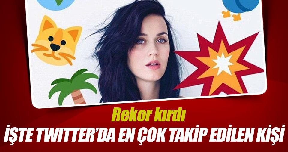 Katy Perry rekor kırdı
