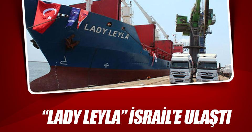 Gazze'ye yardım gemisi İsrail'e ulaştı