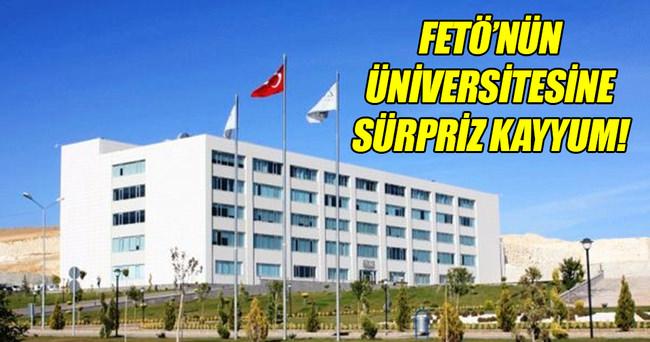 Gaziantep Zirve Üniversitesi'ne kayyum atandı!
