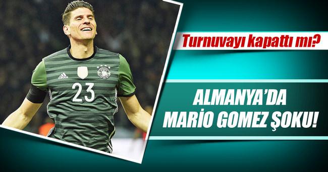 Almanya'da Mario Gomez şoku!