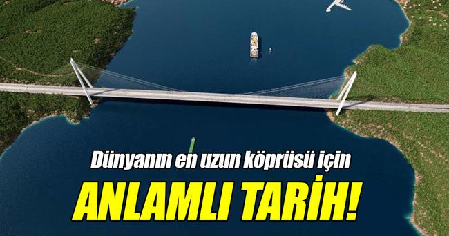 Çanakkale Köprüsü'nün yapımı ne zaman başlıyor?