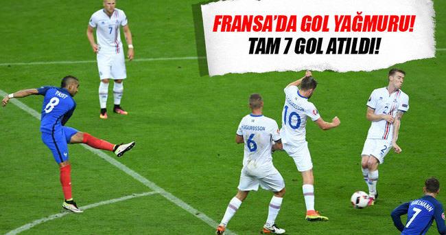 EURO2016: Fransa - İzlanda: 5-2