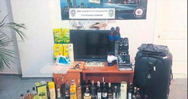 İzmir'de villa hırsızları yakalandı