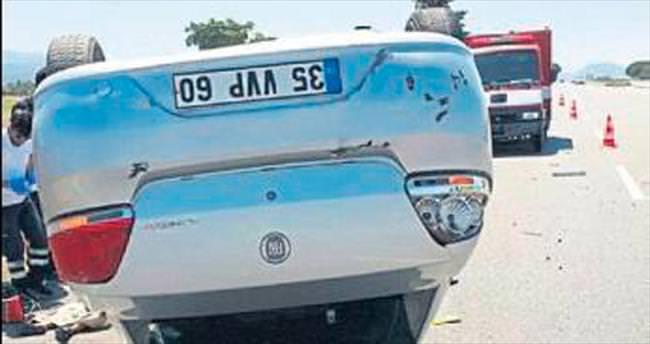 Dikili'de kahreden trafik kazası: 1 ölü