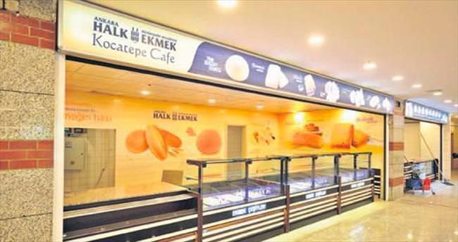 Halk Ekmek'in yeni kafesi Kocatepe'ye