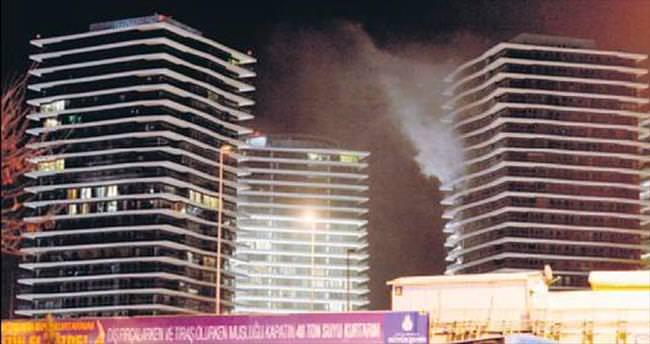 Zorlu'daki yangın izmaritten çıkmış