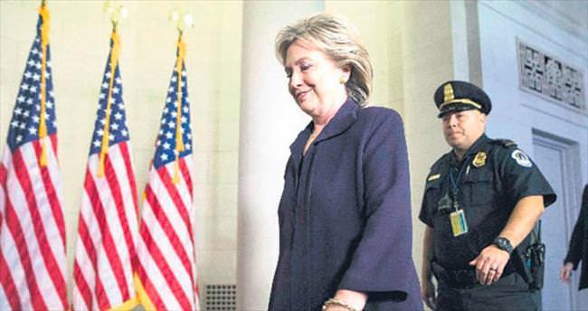 FBI Clinton'ı 3.5 saat sorguladı