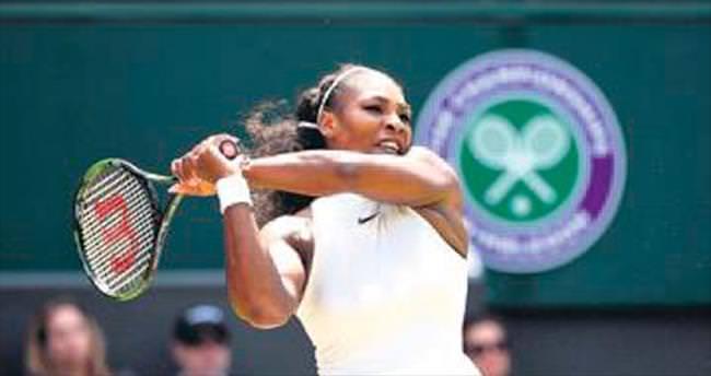 Serena'dan üçüncü dalya