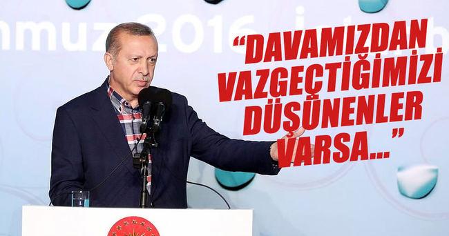 Cumhurbaşkanı Erdoğan: 'Muhatabımız Gazzeli kardeşlerimizdir'
