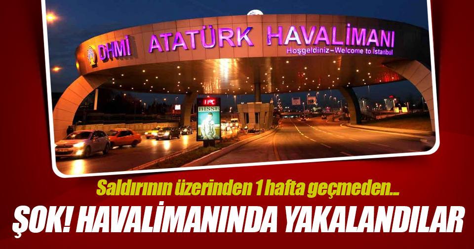 Atatürk Havalimanı'nda 2 IŞİD şüphelisi yakalandı