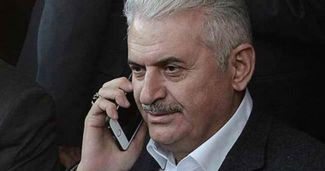 Başbakan Yıldırım'dan taziye telefonu