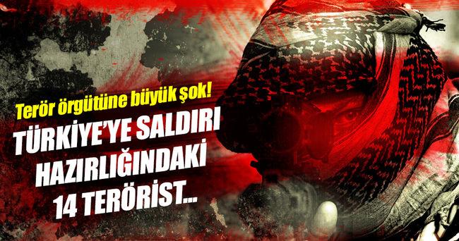 14 terörist etkisiz hale getirildi!