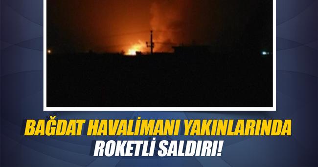 Bağdat'ta havalimanı yakınlarında roketli saldırı!
