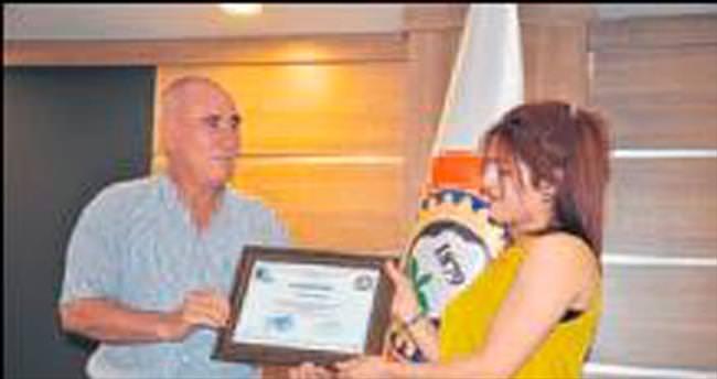 Yarının girişimci adayları sertifika aldı
