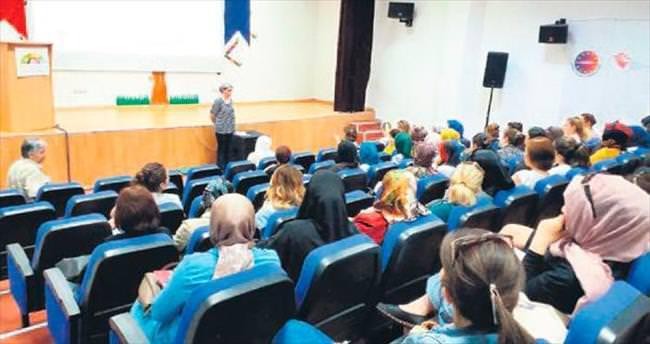 Başkentli kadınlara şiddet eğitimi verildi