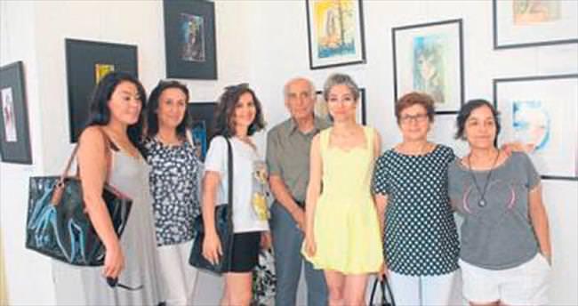 Hayaller Hayatlar resim sergisi açıldı