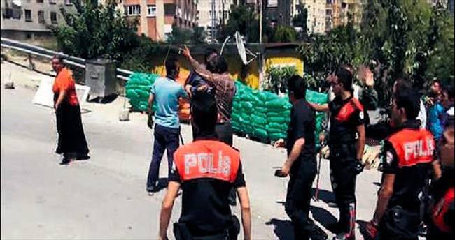 Ataşehir'de taşlı sopalı mahalle kavgası