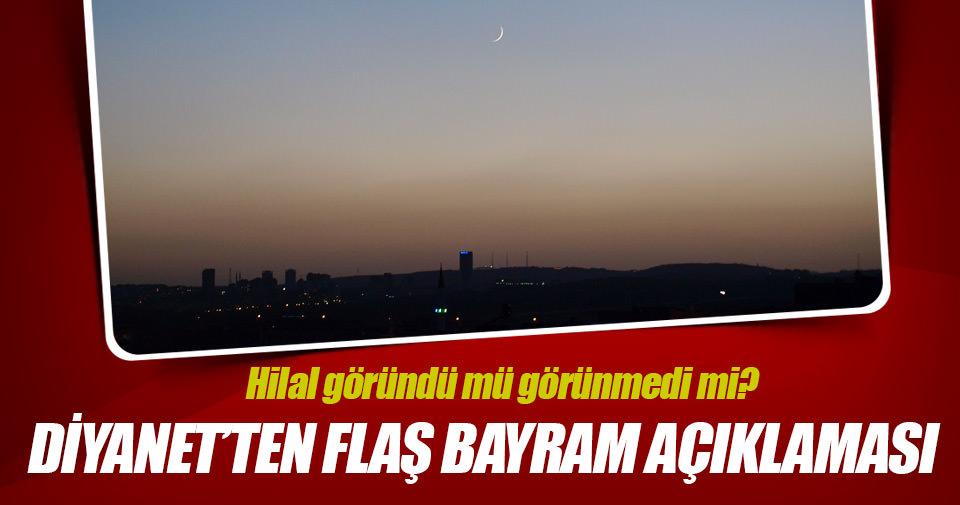 Diyanet'ten flaş 'Bayram' açıklaması