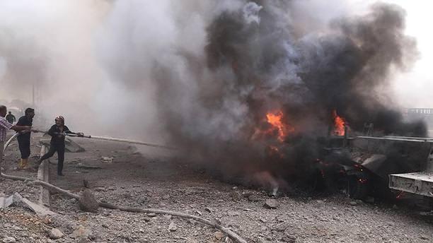 Suriye'de bombalı saldırı: 25 ölü