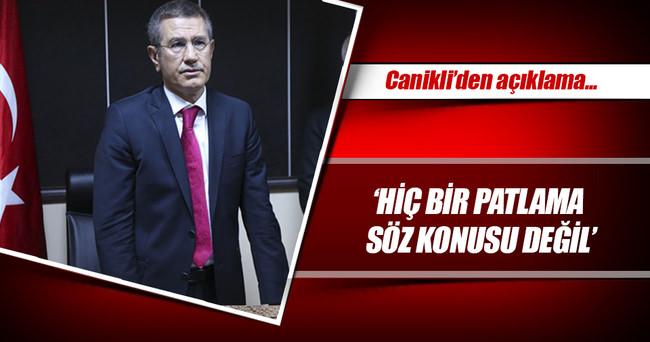 Başbakan Yardımcısı Nurettin Canikli: Kazanın nedeni tamamen olumsuz hava şartları