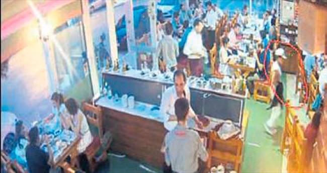 Organize hırsızlık anı kamerada