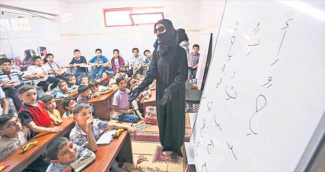 Suriyeliler okul istiyor