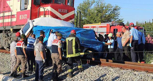 4 kişi trenin altında can verdi