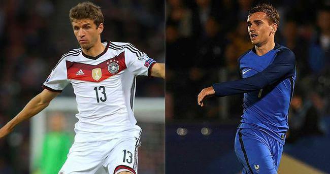 Fransa ve Almanya final için kapışacak