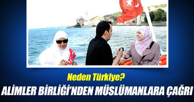 Türkiye için Müslümanlara tatil çağrısı yaptılar