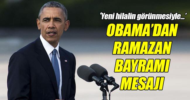Obama'dan Ramazan Bayramı mesajı!