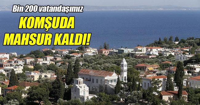 Bin 200 Türk turist mahsur kaldı!