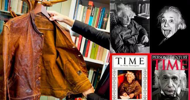 Einstein'in deri ceketi açık artırmaya çıkıyor