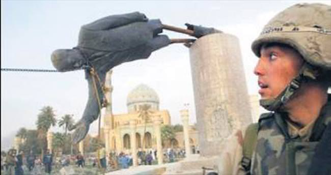 """""""Saddam'ın heykelini tekrar dikmek isterdim"""""""