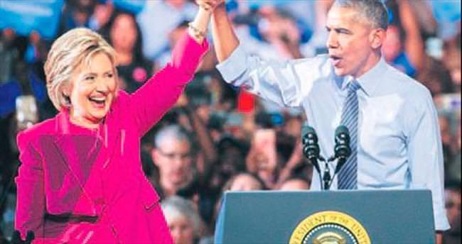 Obama, Clinton'a oy istedi