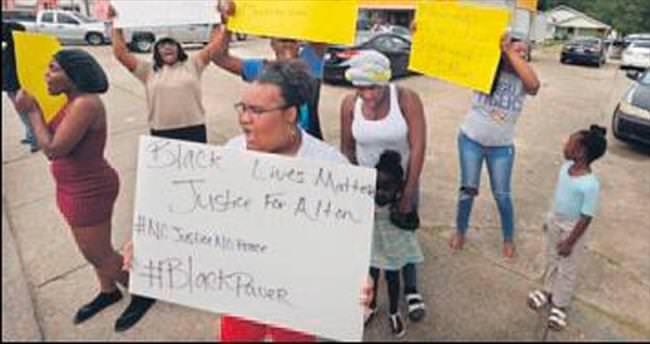 ABD polisi siyahi genci öldürdü direniş başladı