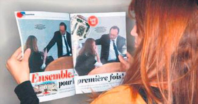 Fransız dergisine Hollande cezası