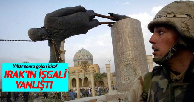 Yıllar sonra gelen Irak itirafı