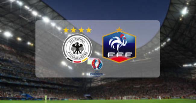 Almanya-Fransa maçı ne zaman, saat kaçta, hangi kanalda?