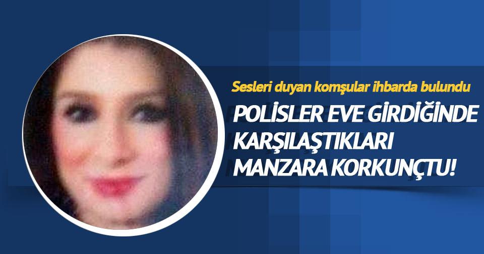 Genç kadın evinde başından vurulmuş halde bulundu