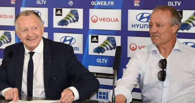 Lyon Başkanı yine Fenerbahçe'yi işaret etti