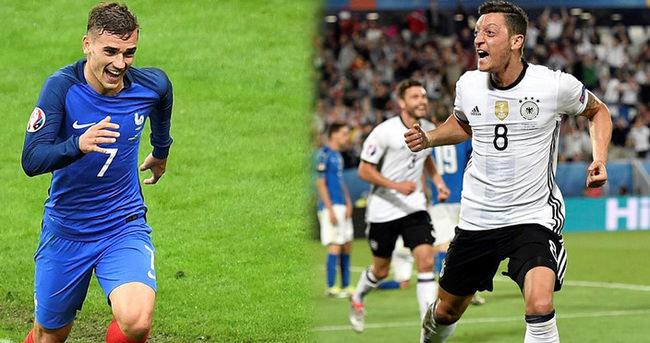 EURO 2016'da erken final bu akşam! Almanya - Fransa