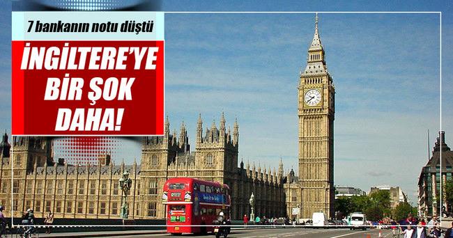 S&P'den İngiltere'ye bir şok daha!