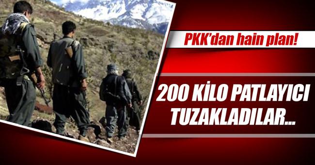 PKK'dan polis noktasına hain tuzak!