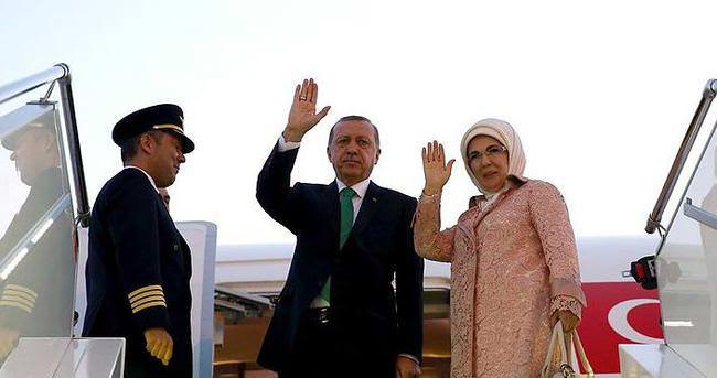 Cumhurbaşkanı Erdoğan, Varşova'ya gitti