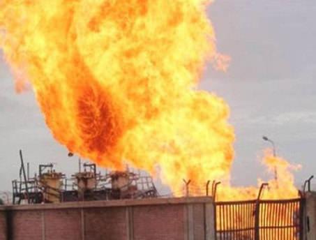 Petrokimya tesisinde yangın!