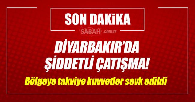 Diyarbakır'da yol kesen PKK'lı teröristlerle şiddetli çatışma!