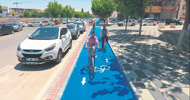 Büyükşehir'den bisikletli çözüm